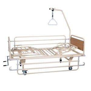 Νοσοκομειακό Κρεβάτι Πολύσπαστο Χειροκίνητο KN 200.3 econ - Σε 12 άτοκες δόσεις