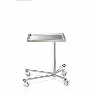 Τραπέζι - εργαλειοδότρια τροχήλατο με υδραυλική ανύψωση 40Χ60Χ90/140 cm - D-47