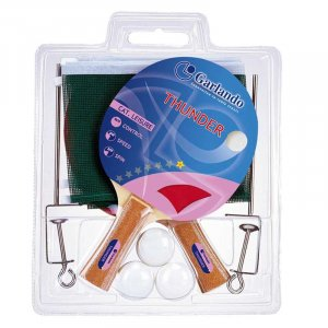 Σετ Ρακέτες και Μπαλάκια Ping Pong THUNDER PLUS Garlando 05-432-007