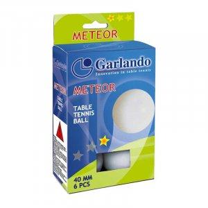 6 Μπαλάκια Ping Pong METEOR 1star Garlando 05-432-008