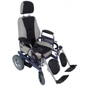 Ηλεκτροκίνητο Αναπηρικό Αμαξίδιο Reclining Comfort με Πτυσσόμενα Πλαϊνά και Αποσπώμενα & Ανυψούμενα Υπόποδια - 0809242 - Σε 12 άτοκες δόσεις