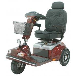 Αμαξίδιο Scooter Alluri, με Περιστρεφόμενο Deluxe Κάθισμα, Ρυθμιζόμενη Πλάτη και Τιμόνι και Φρένο Έκτακτης Ανάγκης - 0811103 - Σε 12 άτοκες δόσεις