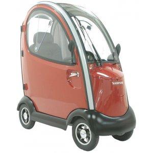 Αμαξίδιο Scooter Maxi Cab, με Αναπαυτικό Κάθισμα Deluxe και Πλήρες Σετ Φωτισμού - 0811106 - Σε 12 άτοκες δόσεις