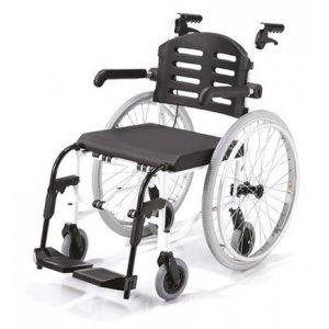 Αναπηρικό Αμαξίδιο Aqua Αδιάβροχο, με Μεγάλους Συμπαγείς Τροχούς, Πτυσσόμενα Πλαϊνά και Αποσπώμενα Υποπόδια - 0811304 - Σε 12 άτοκες δόσεις