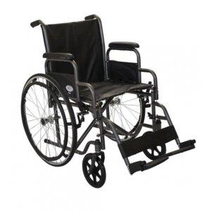 Αναπηρικό Αμαξίδιο Profit I Solid Πτυσσόμενο με Μεγάλους Συμπαγείς Τροχούς, με Αποσπώμενα Πλαϊνά και Υποπόδια - 0813016