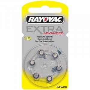 Μπαταρίες Ακουστικών Βαρηκοΐας 6τεμ. RAYOVAC 10MF