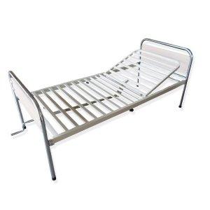 Κρεβάτι μεταλλικό Μονόσπαστο Μπεζ - 0810069 - Σε 12 άτοκες Δόσεις