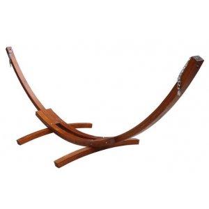 Βάση αιώρας ξύλινη 316x120x120cm - 12341