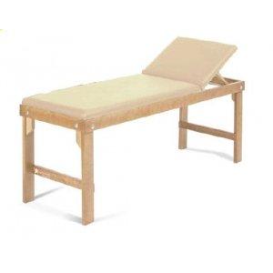 Εξεταστικό Κρεβάτι Ξύλινο με Ανάκλιση Πλάτης και Μηχανισμό Χαρτιού 189x62x78cm - Σε 12 άτοκες δόσεις - 0808879