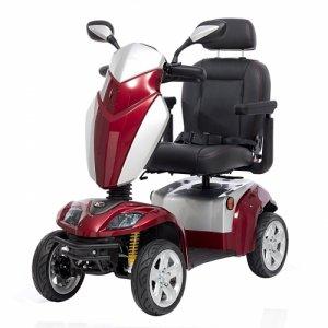 Ηλεκτροκίνητο Αμαξίδιο - Scooter Kymco Agility - Μπορντώ - Σε 12 άτοκες δόσεις