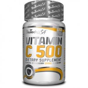 Vitamin C 500 120 φυτικές ταμπλέτες