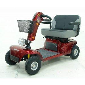 Αμαξίδιο Scooter Imperial, με Μεγάλο Κάθισμα για 2 Άτομα, Άνετο Κάθισμα και Φλας & Αλάρμ - 0811105 - Σε 12 άτοκες δόσεις