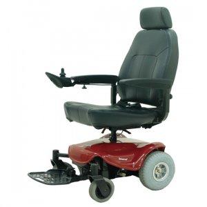 Αμαξίδιο Scooter Agila, με Αναπαυτικό Κάθισμα Deluxe, Ρυθμιζόμενα Πλαϊνά και Χειριστήριο Μοχλού - 0811107 - Σε 12 άτοκες δόσεις