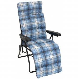 Μεταλλική Πολυθρόνα-Κρεβάτι Συνοδού Νοσοκομειακή με Μαξιλάρι 7cm