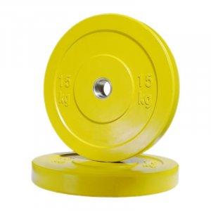 Δίσκος Bumper 15kg Ramos - 12119