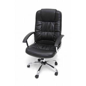 Πολυθρόνα Γραφείου Διευθυντική Μαύρη - 64x55x110/120cm - 66-18696-1