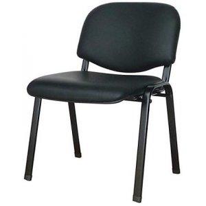 Καρέκλα Επισκέπτη Μαύρο - 53x45x78cm - 66-19990