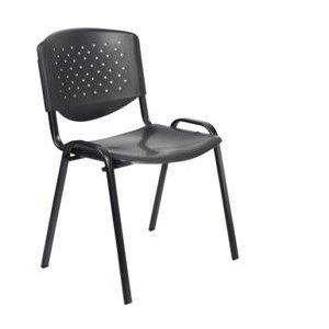 Κάθισμα Επισκέπτη Μαύρο - 53x45x73cm - 66-20071