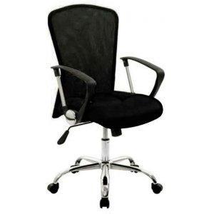 Καρέκλα Γραφείου Μαύρη - 57x50x90/100cm - 66-22181-1