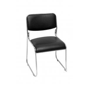 Κάθισμα Επισκέπτη Μαύρο - 44x41x71cm - 66-22273