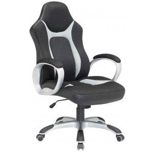 Καρέκλα Γραφείου Μαύρο - Γκρι - 64x62x110/118cm - 66-23591