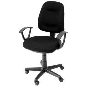 Καρέκλα Γραφείου Μαύρη - W60xD41xH82/93cm - Κ08642Ν-1