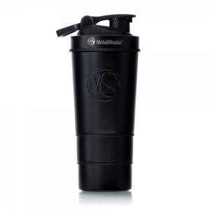 SHAKER 600ml By METALSHAKE - Black Steel