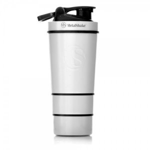 SHAKER 600ml By METALSHAKE - Pearl White