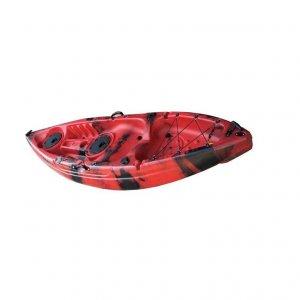Fishing Kayak GOBO SALT SOT Ενός Ατόμου Κόκκινο - Κόκκινο/Μαύρο - NJG-0100-0102RD
