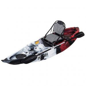 Kayak Ψαρέματος Ατομικό Force Andara SOT Full 2.75X0.78X0.40m - Κόκκινο - NJG-0100-0121RBW