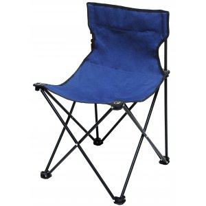 Πολυθρόνα Μπλε Μεταλλική Πτυσσόμενη σε Τσαντάκι Polyester