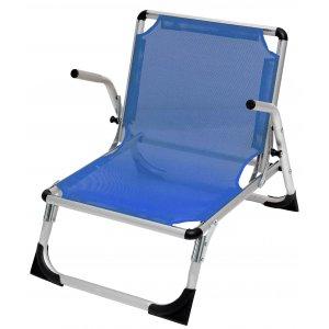 Καρέκλα Παραλίας Αλουμινίου με Μπράτσα Text