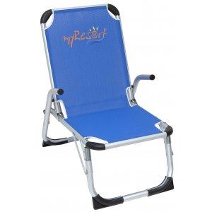 Καρέκλα Παραλίας Αλουμινίου Ενισχυμένη King Size με Ψηλά Πόδια & Ψηλή Πλάτη - Text 2*1