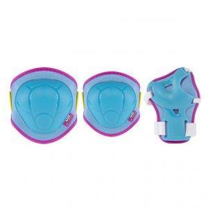 Προστατευτικά Set Nils Extreme H106 Size S - Μπλε/Ροζ - NJG-16-60-002