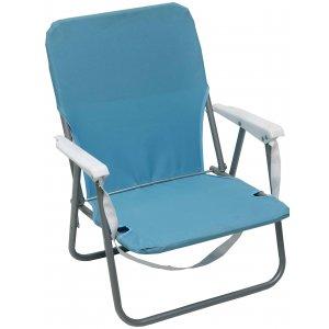 Καρέκλα Παραλίας Μεταλλική με Μπράτσα Polyester 600D