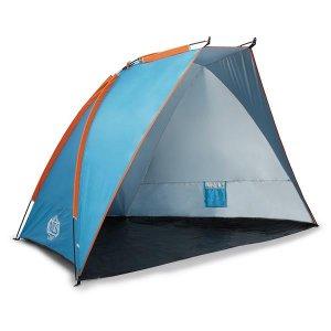 Τέντα Παραλίας Μπλε Pop UP - NILS Camp NC8030 - 260x120x120cm - NJG-15-04-025