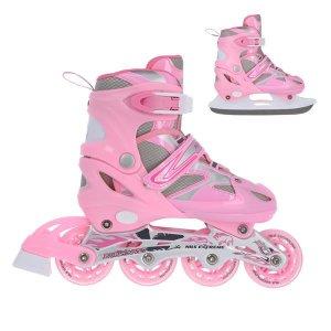 Αυξομειούμενα Roller NH18366 2 ΣΕ 1 In-Line Skates/Hockey Ice Skates