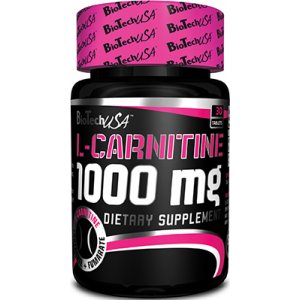 L-Carnitine 1000mg 30 ταμπλέτες