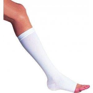 Κάλτσες κάτω γόνατος αντιθρομβωτικές 314 18-21mm Hg - Λευκές