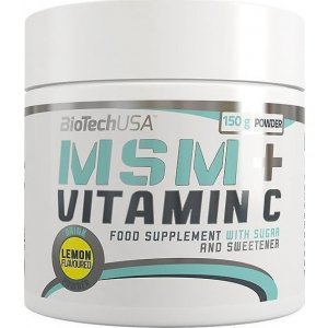 MSM + Vitamin C 150gr Λεμόνι