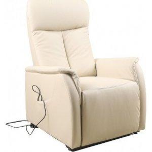 Πολυθρόνα Relax με ηλεκτρική ανάκλιση AR02 Μπεζ - Σε 12 άτοκες δόσεις