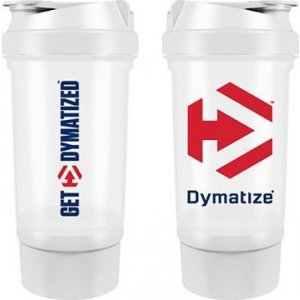 Shaker Bottle 500 ml Dymatize Λευκό