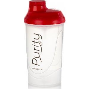 Purity Plastic Shaker 600ml - Red