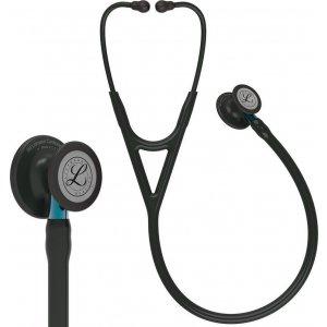 Στηθοσκόπιο 3M™ Littmann® Cardiology IV™ Black & Black Finish Blue Stem 6201