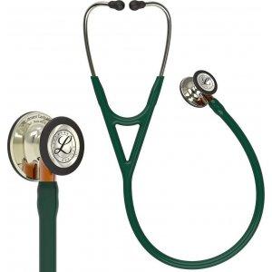 Στηθοσκόπιο 3M™ Littmann® Cardiology IV™ 6206 Hunter Green & Champagne Finish Orange Stem