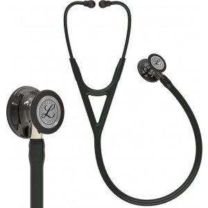 Στηθοσκόπιο 3M™ Littmann® Cardiology IV™ 6204 Black & High Polish Smoke Finish Champagne Stem