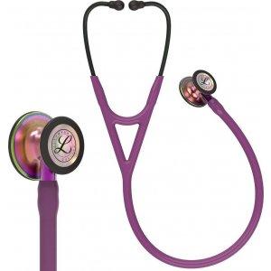 Στηθοσκόπιο 3M™ Littmann® Cardiology IV™ 6205 Plum & Rainbow Finish Violet Stem