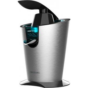 Ηλεκτρικός Πορτοκαλοστίφτης - Λεμονοστίφτης Cecotec Zitrus Adjust 160 Vita Inox 160W σε Μαύρο χρώμα, CEC-04093