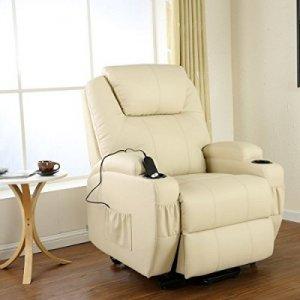 Πολυθρόνα Relax με ηλεκτρική ανάκλιση AR08 Μπεζ - Σε 12 άτοκες δόσεις