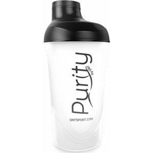 Purity Plastic Shaker 600ml - Black